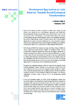 Development approaches in Latin America: towards social-ecological transformation