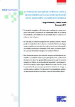 La transición energética en México