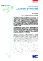 El rol del Estado en el proceso de transformación social-ecológica de América Latina